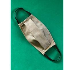 Maska ochronna  dwuwarstwowa - popiel